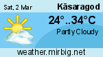 Weather in Kasaragod